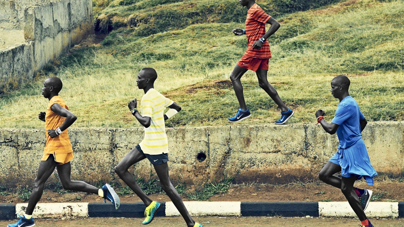 Nike Free 2014: Birgen, Kiprop, Kogo, Mutai