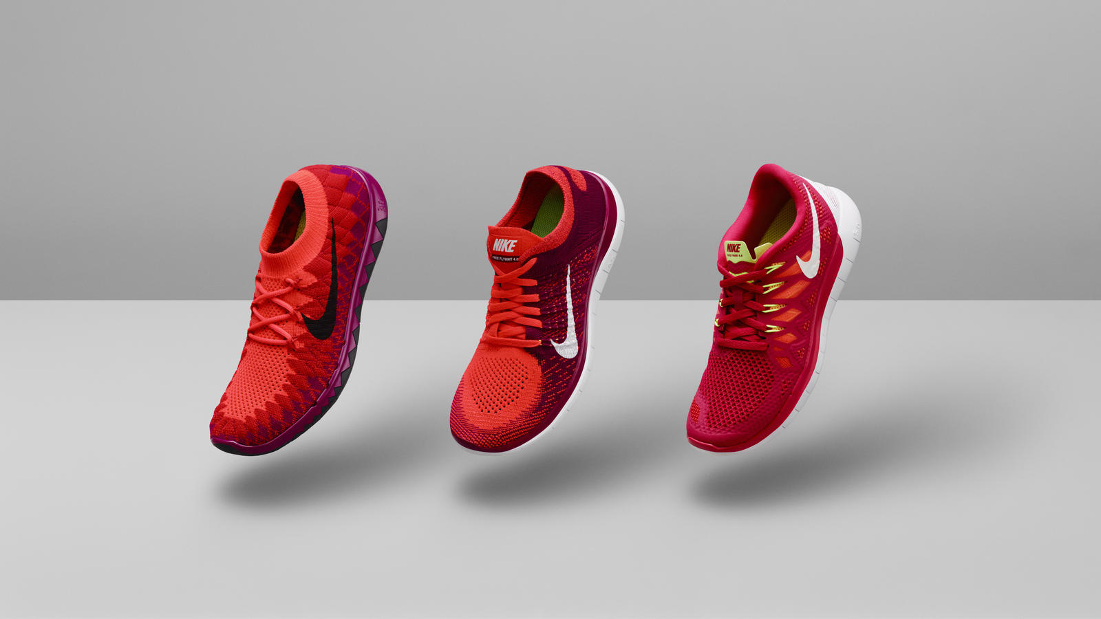 Buy Nike Free 5.0 2014 Mens Running Shoes White Red Shoes