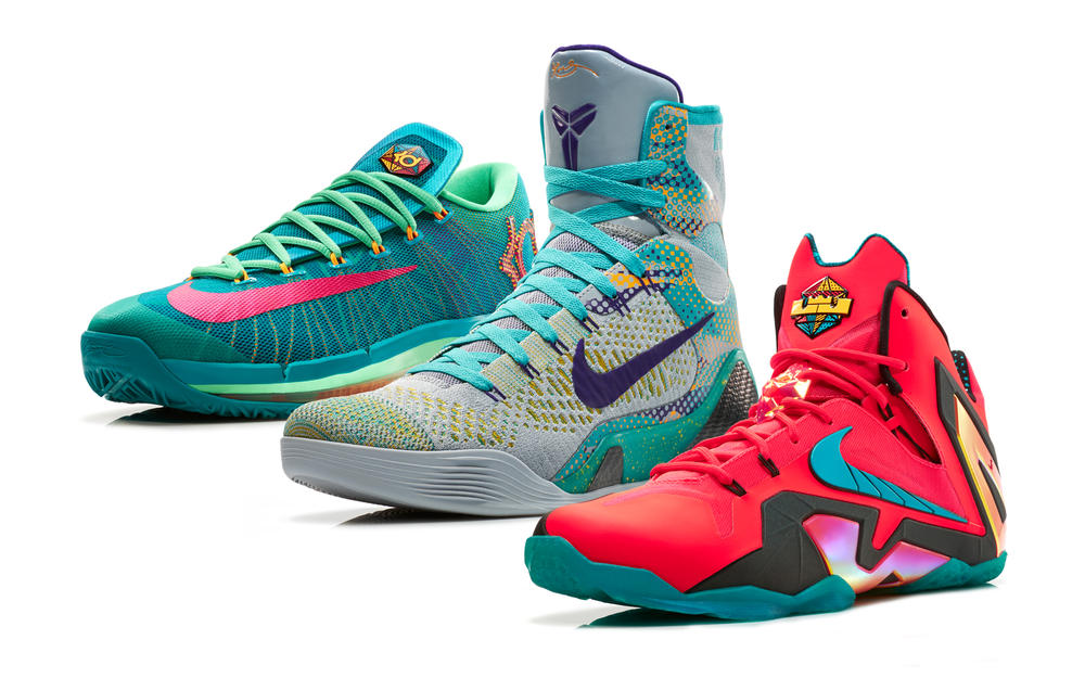 Supernatural Innovation: the Nike Basketball Elite Series Hero Collection