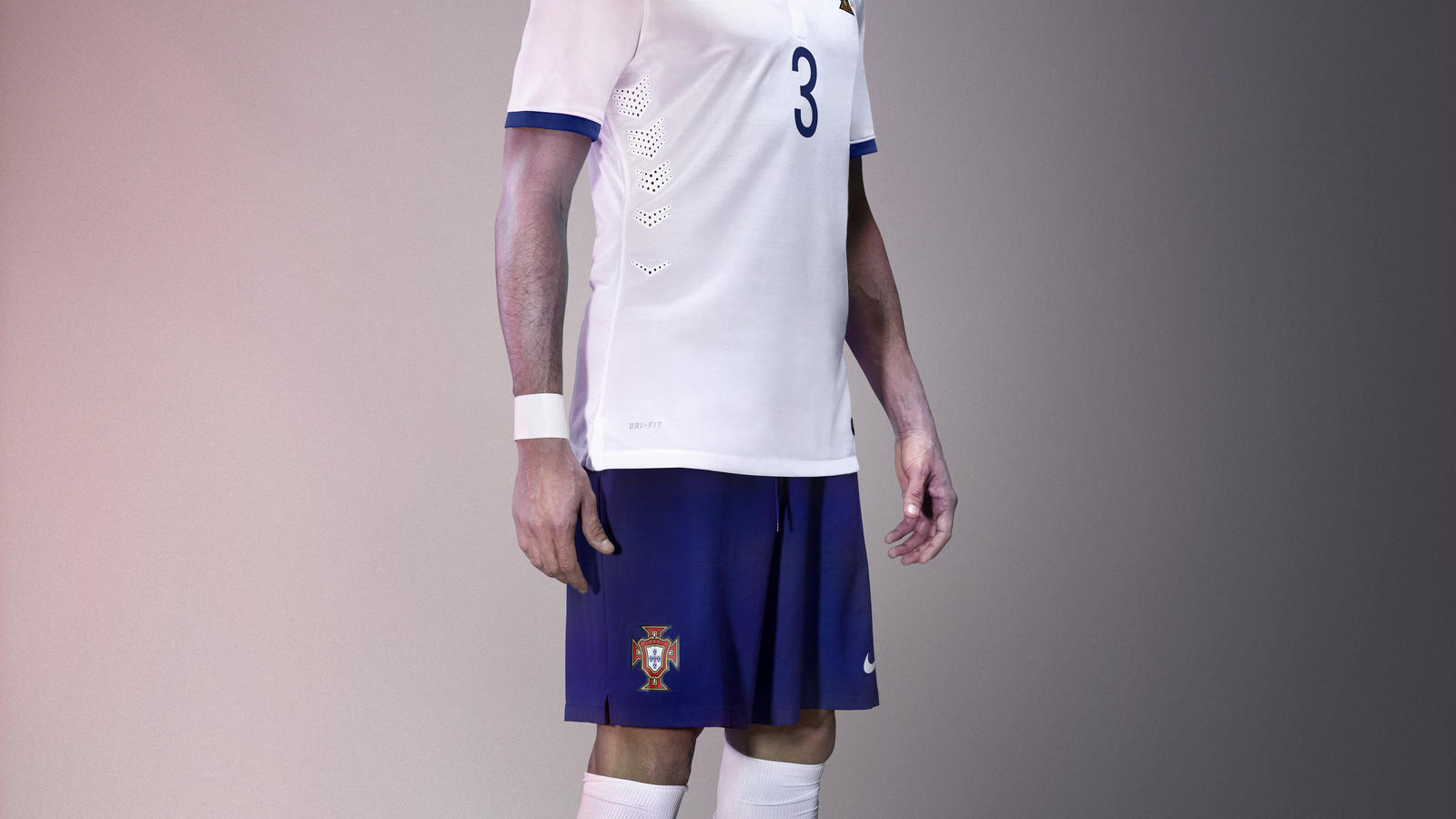 Pepe in the new Portugal away kit