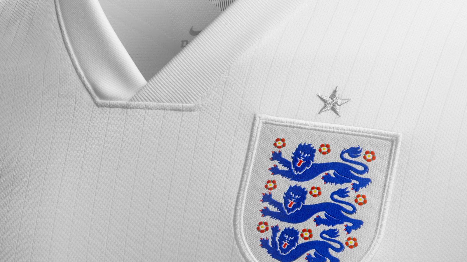 England home shirt (crest)
