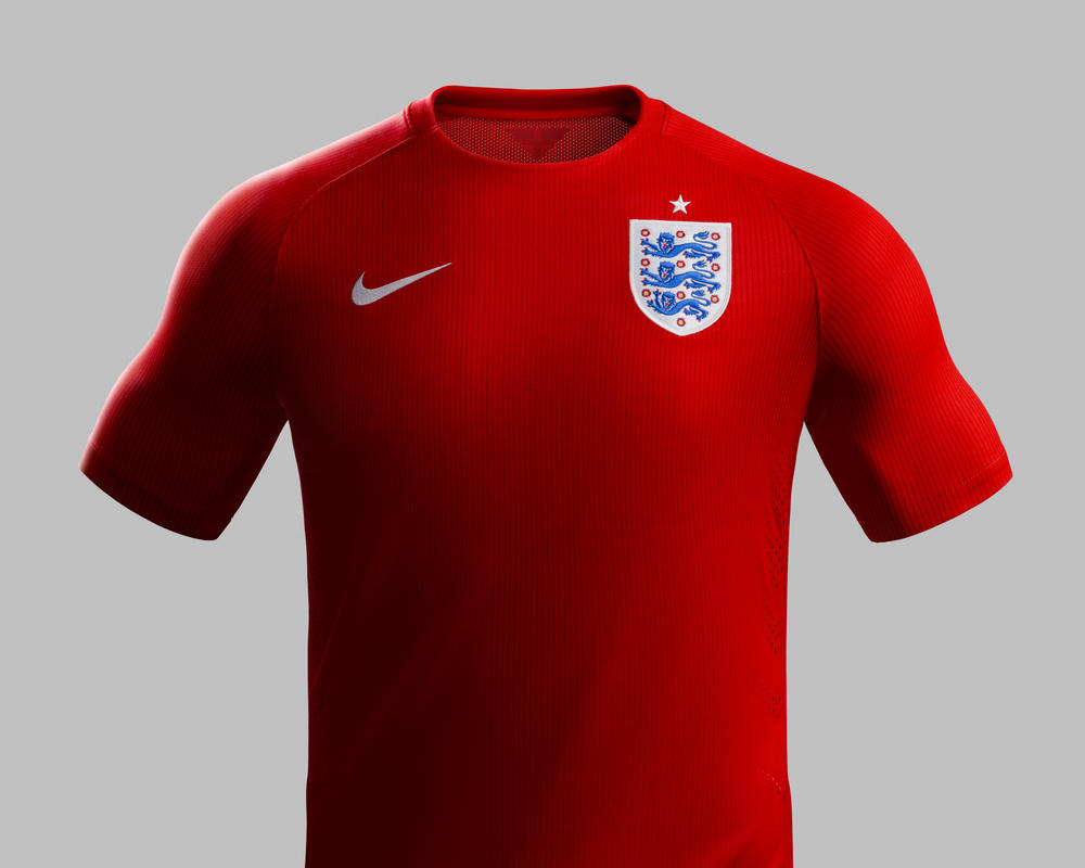 Inglaterra Revela Uniformes para 2014
