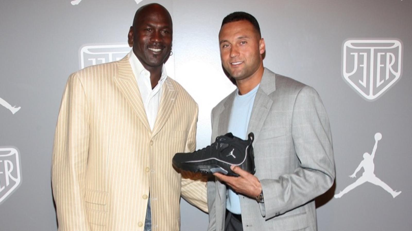 Michael Jordan and Derek Jeter