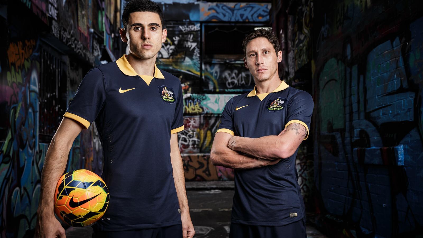 Australia Debuts New Nike Away Kit for 2014
