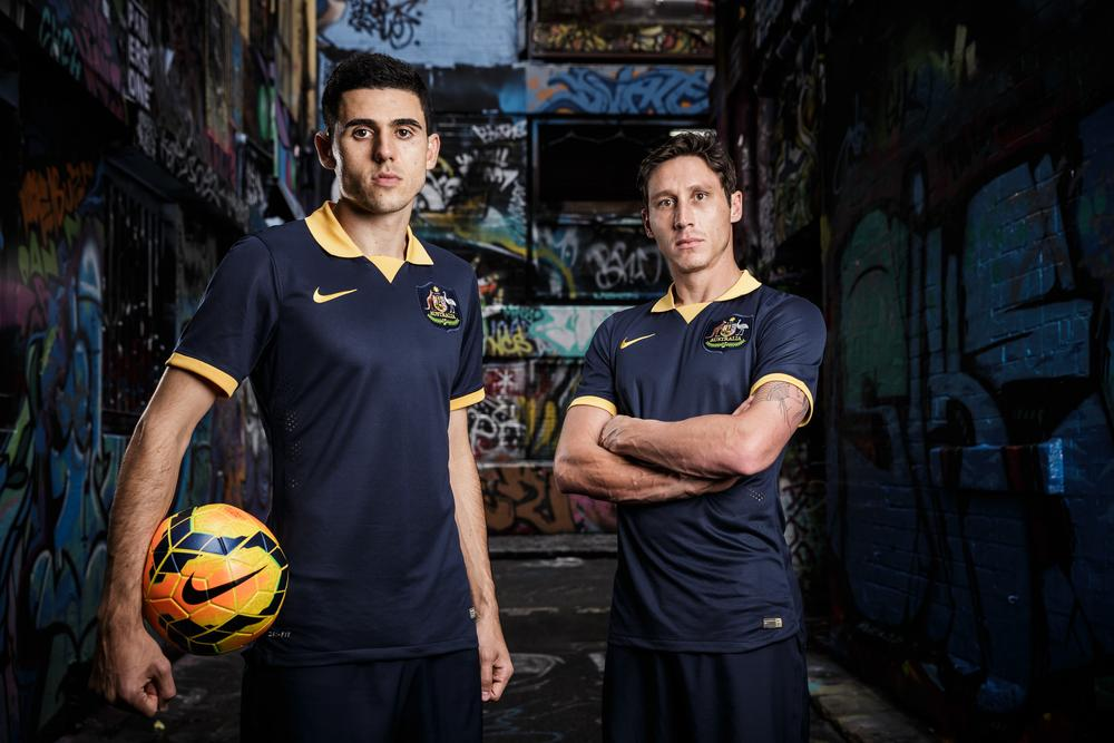 Australia Debuts New Nike Away Kit for 2014