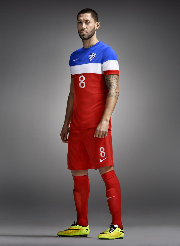 Nike Soccer Unveils 2014 U.S. National Team Away Kit