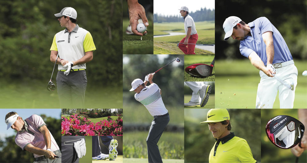 e4f4383afbc57 Nike Golf Reveals Athlete Looks for First Major Championship of 2014