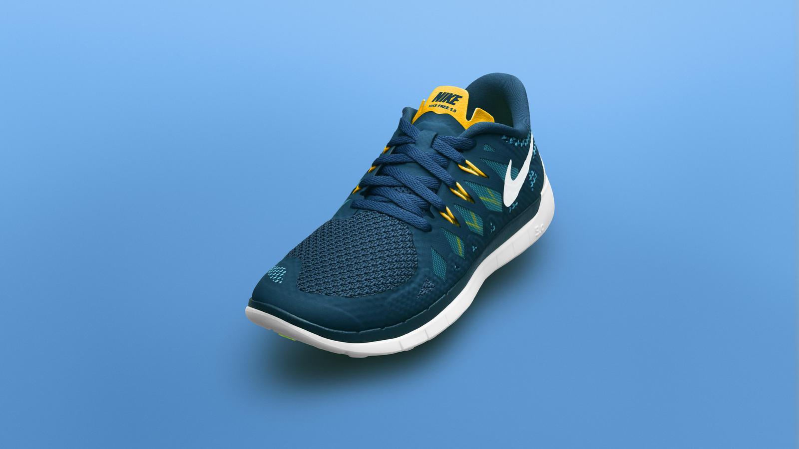 quality design b4edb d0037 Born Flexible: Nike Free 5.0 for Young Athletes - Nike News