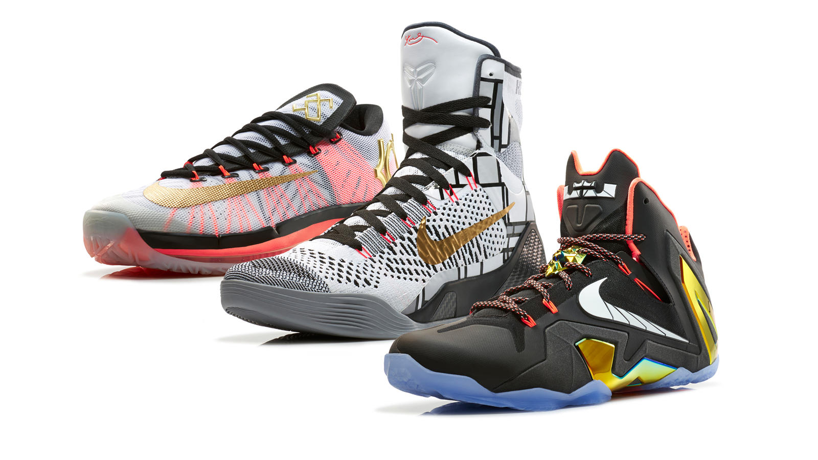Premium Standard: Nike Basketball Elite Series Gold