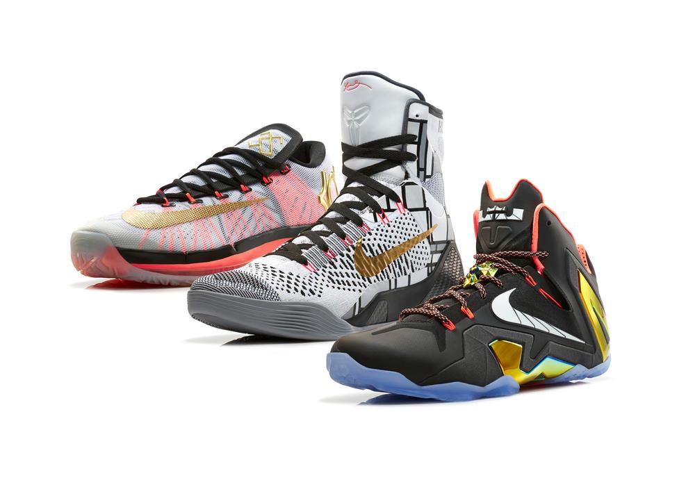 Premium Standard: Nike Basketball Elite Series Gold Collection