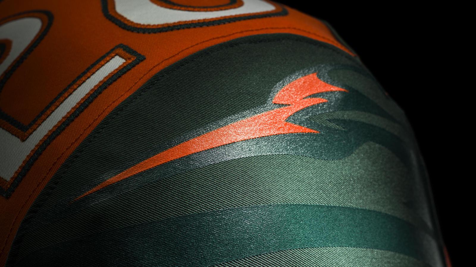 best service c2fd0 5f2ba Miami Hurricanes Unveil New 2014 Nike Football Uniform ...