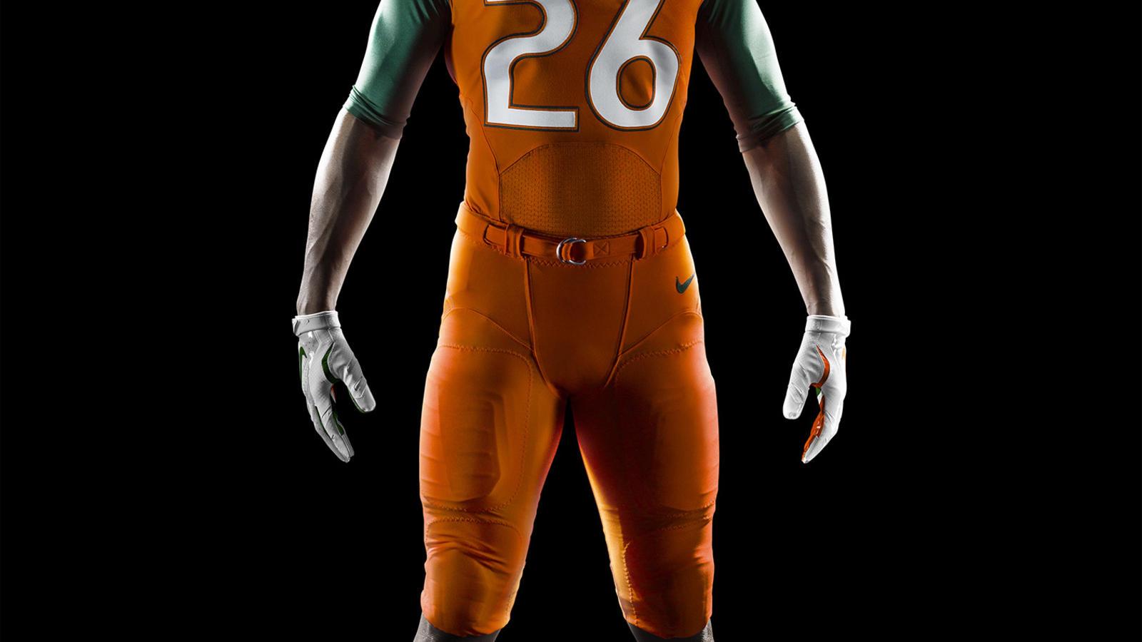 f7615eae1 su14 at ncaa miami front orange jersey.  su14 at ncaa miami front green jersey.  su14 at ncaa miami front white jersey new. su14 at ncaa miami comp front new