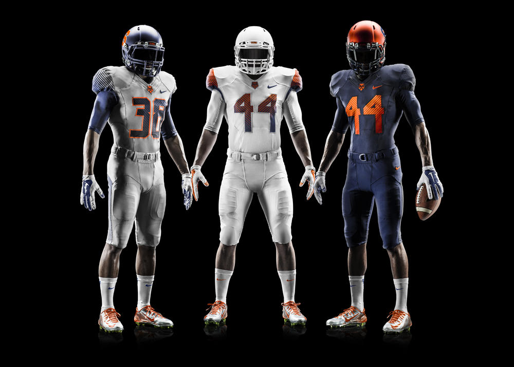 Syracuse Unveils New 2014 Nike Football Uniforms