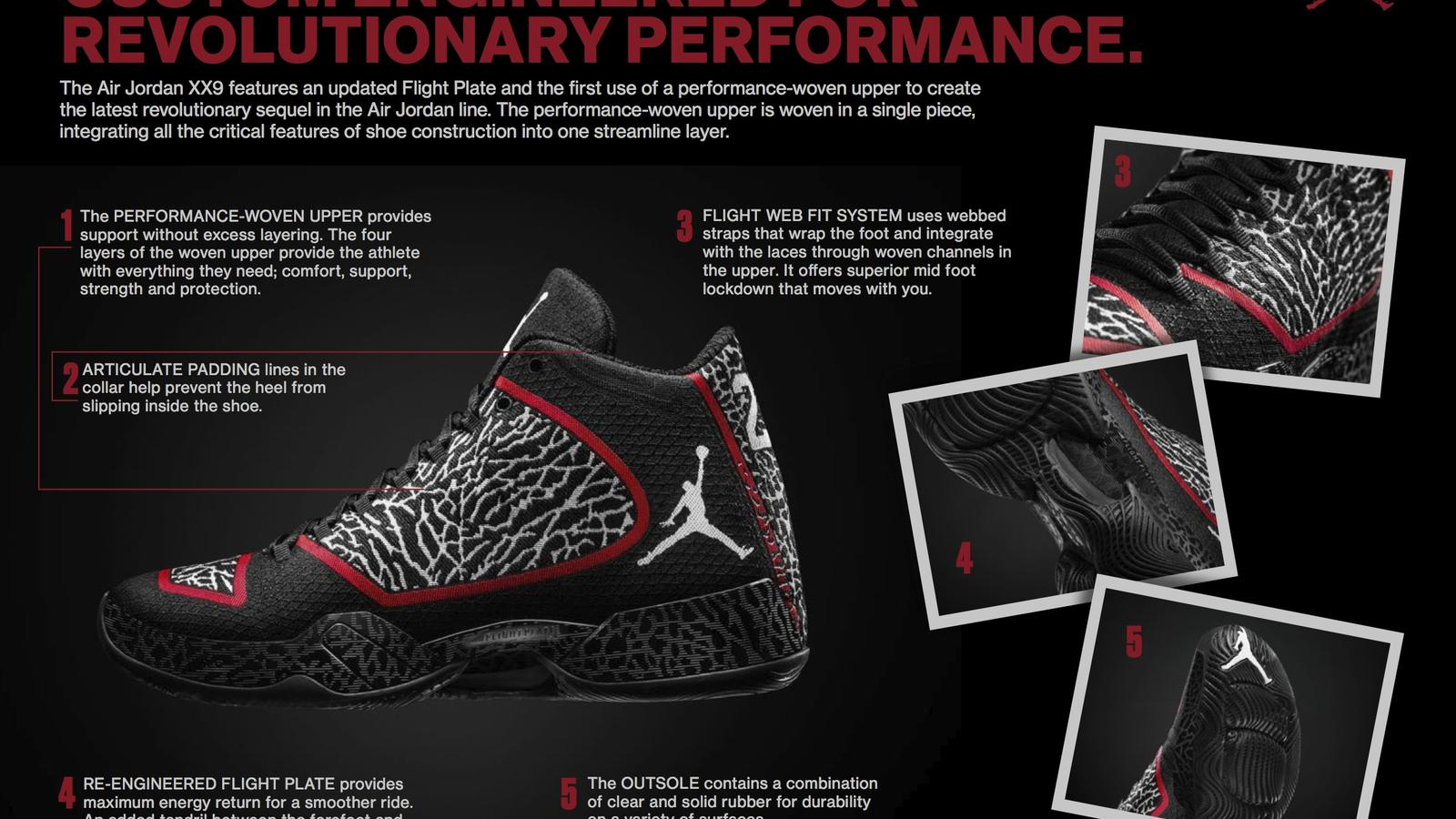 Jordan Brand Introduces First Performance-woven Upper with