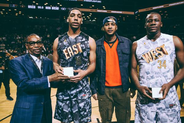 Elite High School Basketball Players Take Flight at Jordan Brand Classic
