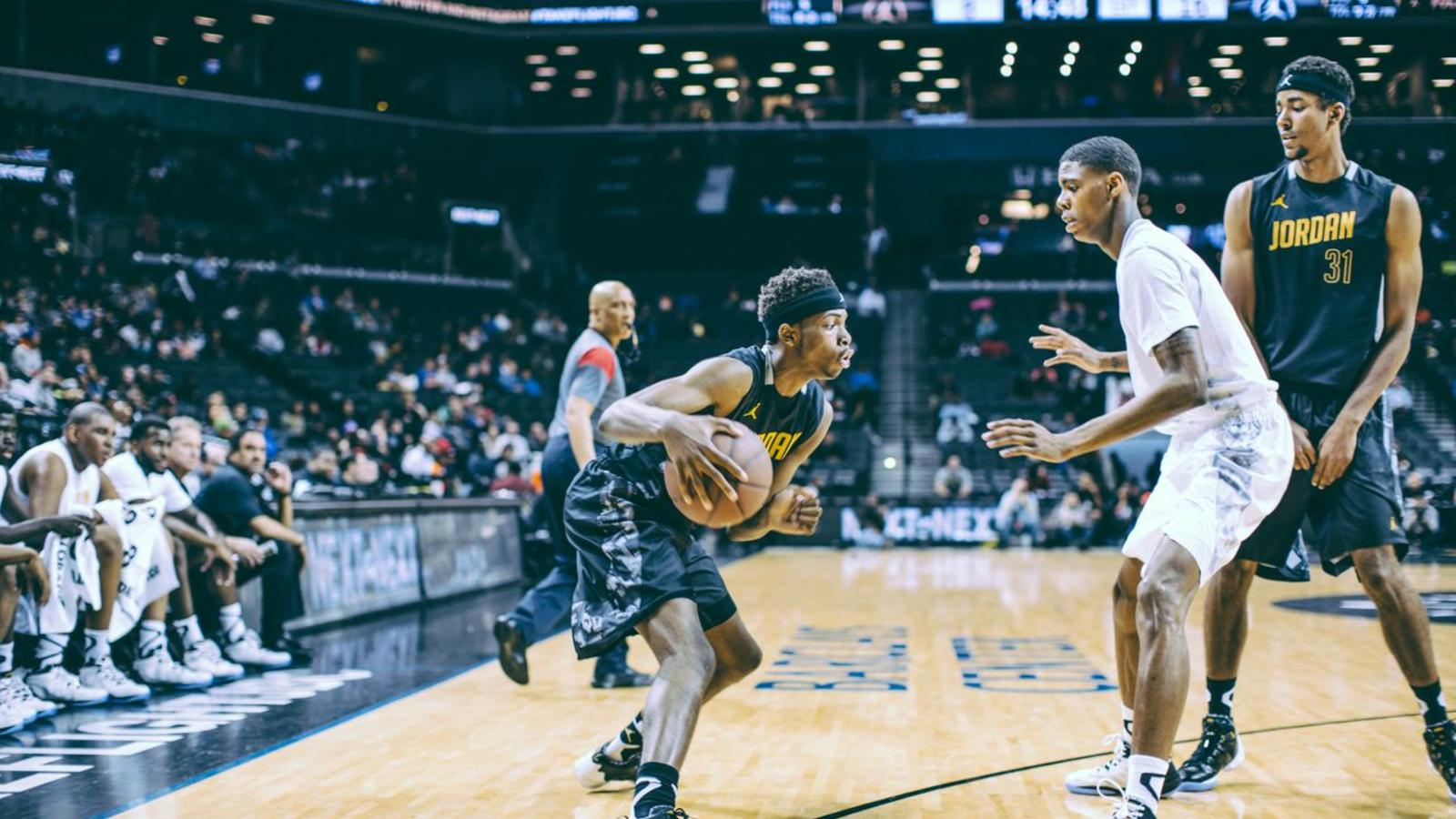 69d6f40f27f Elite High School Basketball Players Take Flight at Jordan Brand ...