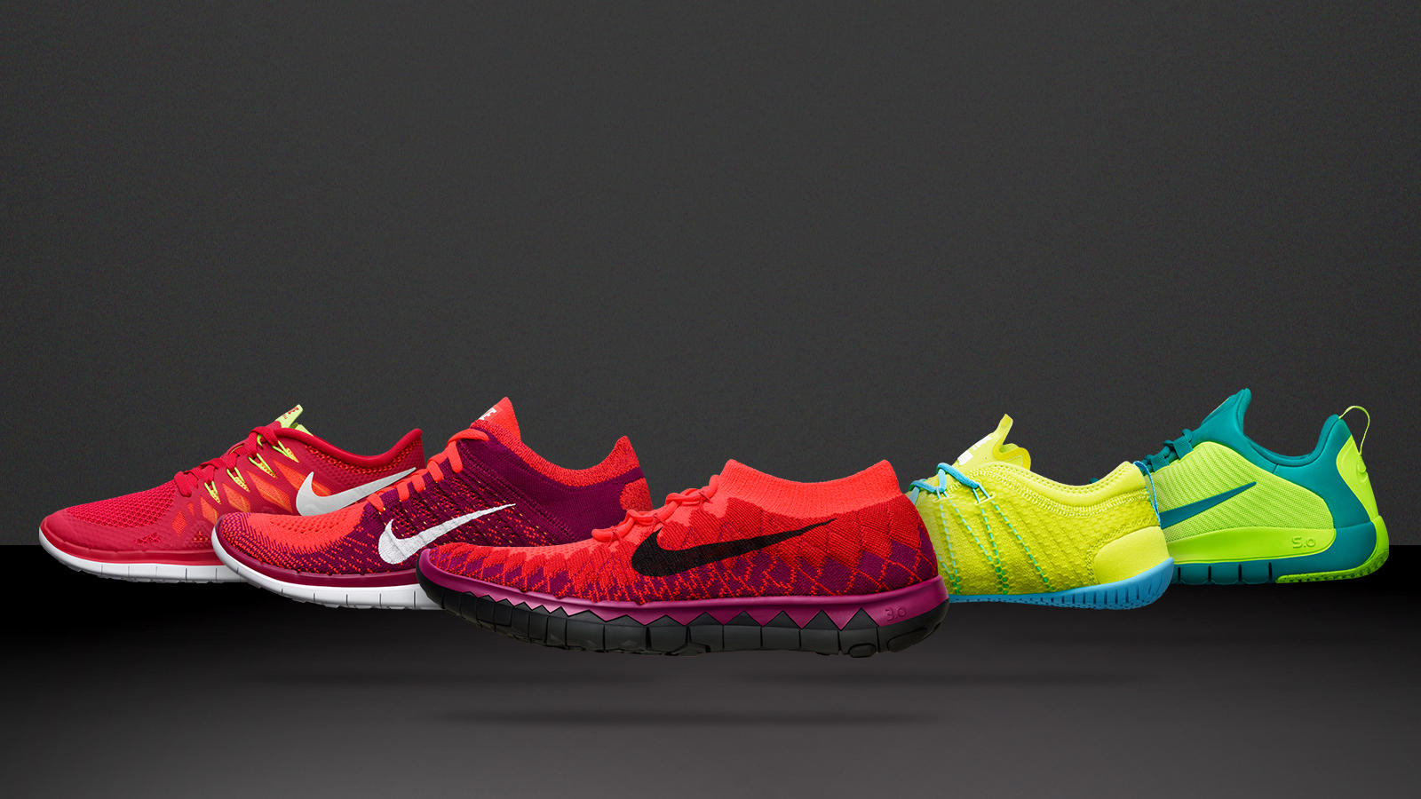 Experience the Nike Free journey. Share Image