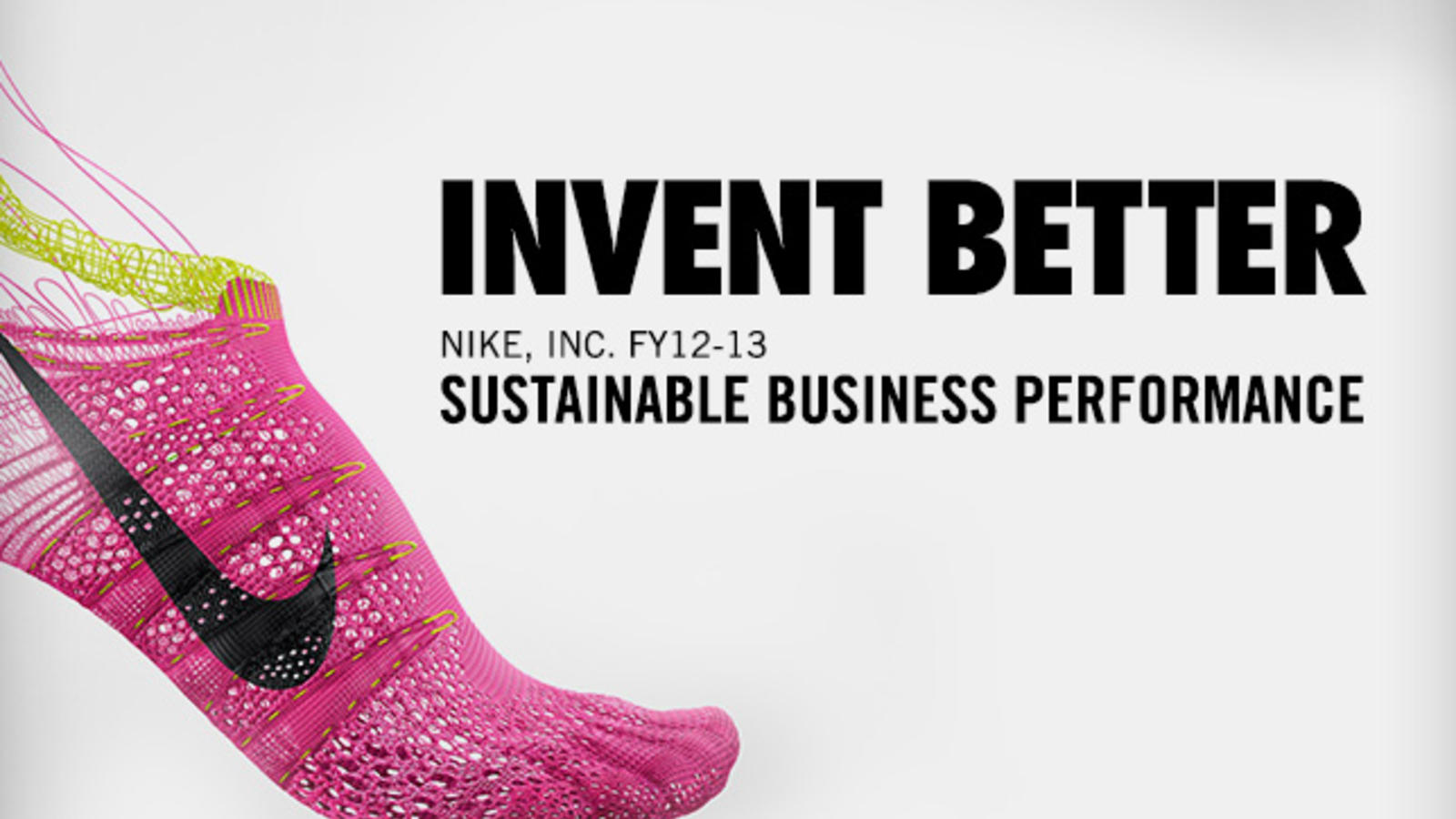 Nike Sustainable Business Report