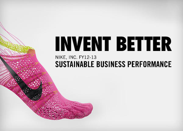 Nike's Sustainability Report Shows Company Reducing Environmental Impact while Continuing to Grow