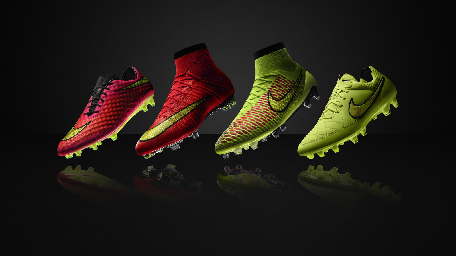 nike football green running nike