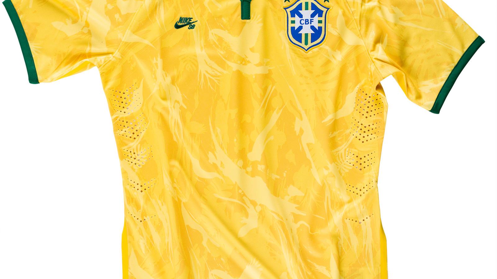 camiseta nike sb brasil