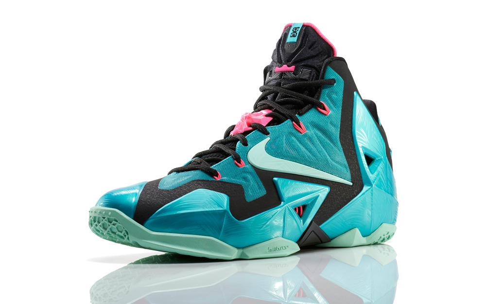 LEBRON 11 South Beach Remixes Past with Present