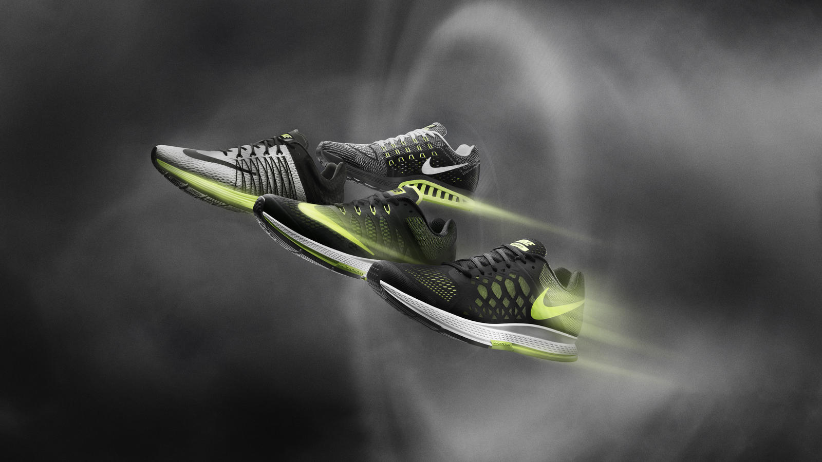 Designed for Speed: Nike Zoom Air Running Collection