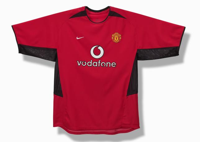 The year marks the start of a long-running relationship between Nike and  Manchester United c4557c0a19f