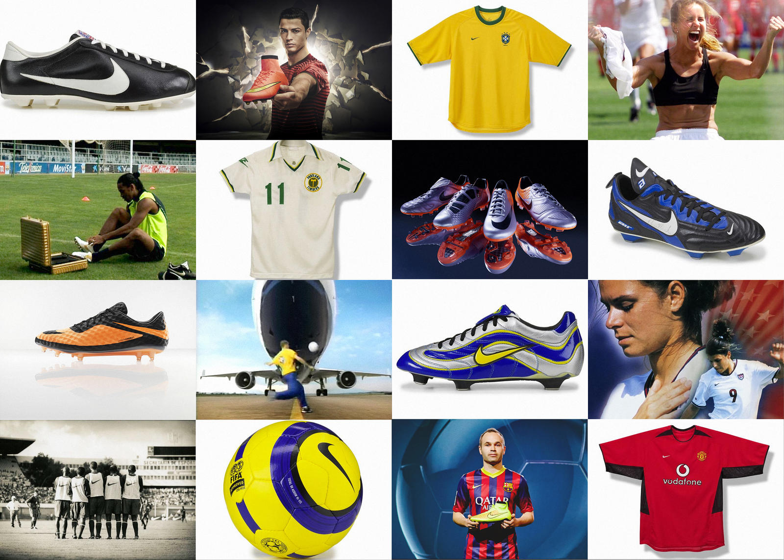 Definitive History of Nike in Football