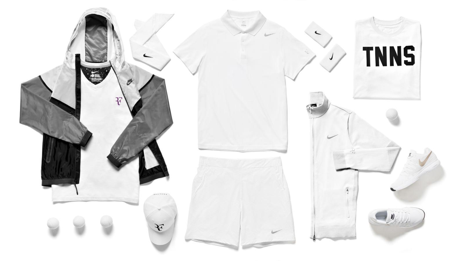 Roger Federer Nike Tennis Look - London 2014