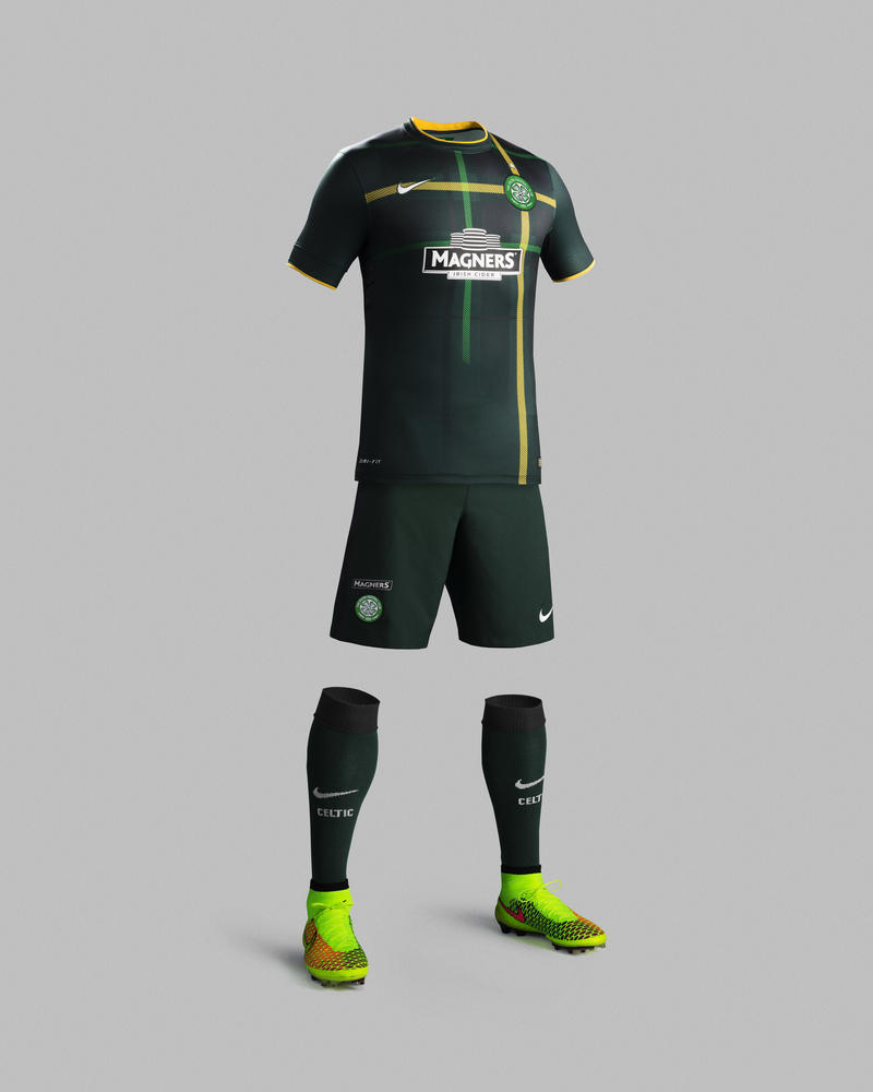 Celtic Unveils new Nike Away Kit for 2014-15 Season 6cd391a29464f