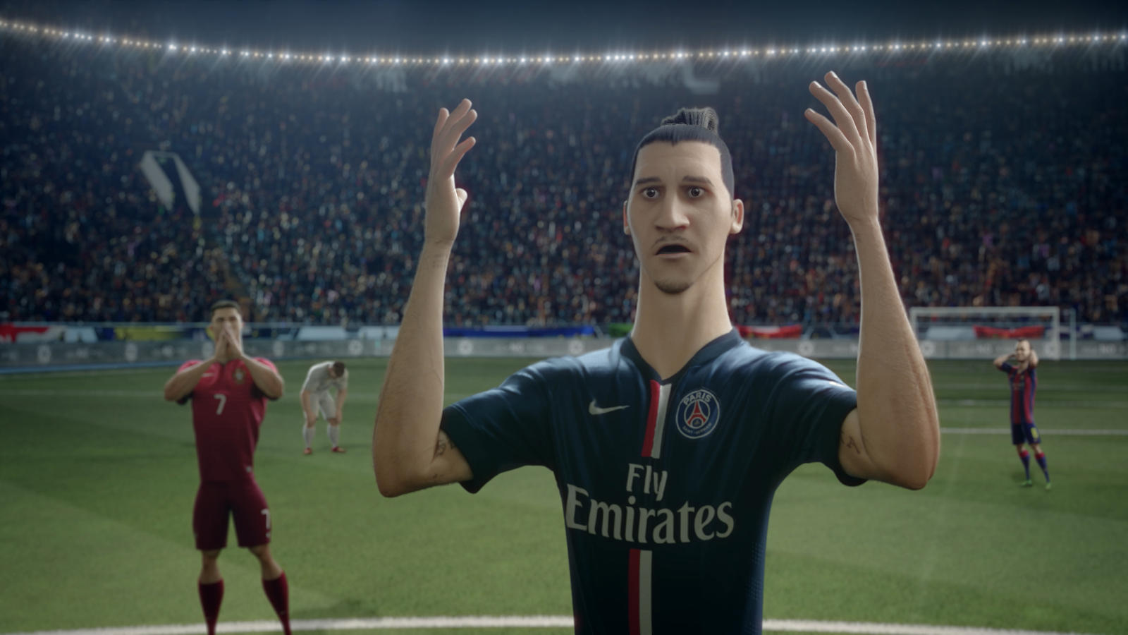 Zlatan Ibrahimovic, Cristiano Ronaldo and Andres Iniesta  star in The Last Game by Nike Football