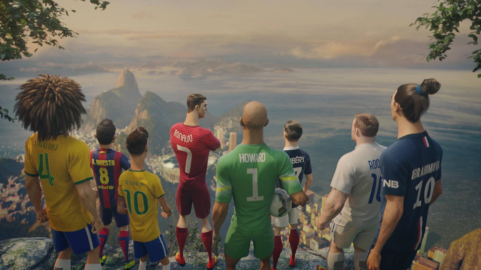 The Players from The Last Game by Nike Football