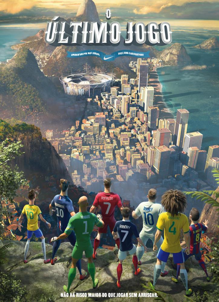 """Nike Futebol Lança Animação """"Último Jogo"""", no dia 9 de Junho"""