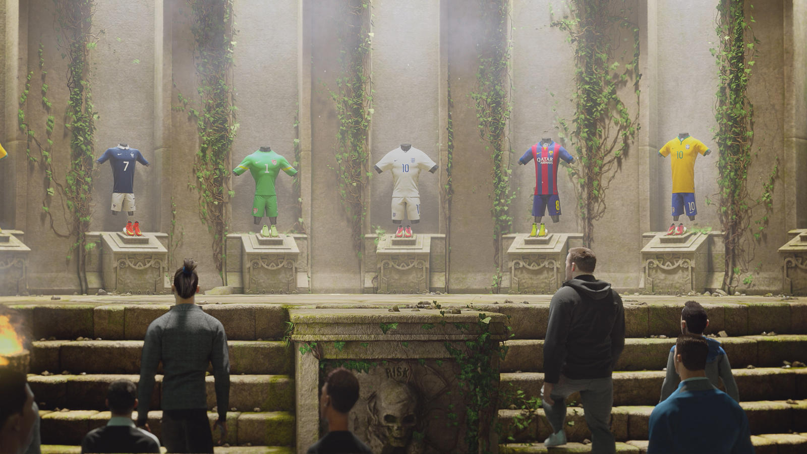 The Kit Room in Nike Football's The Last Game