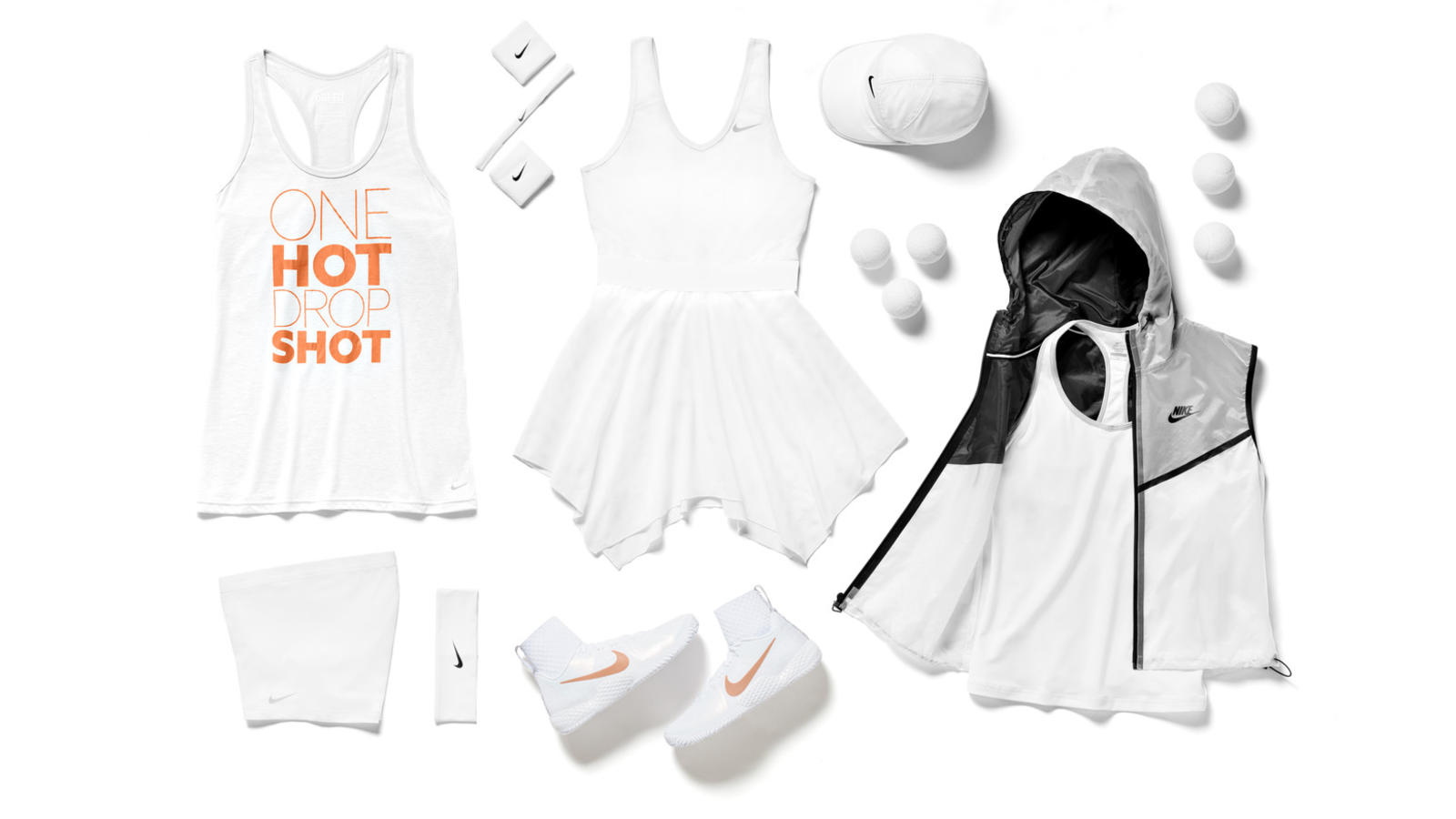 Serena Williams Nike Tennis Look - London 2014