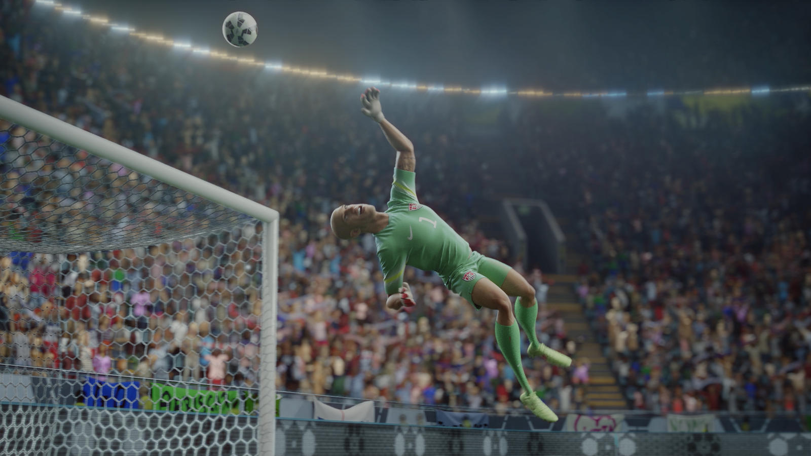 Tim Howard in Nike Football's The Last Game