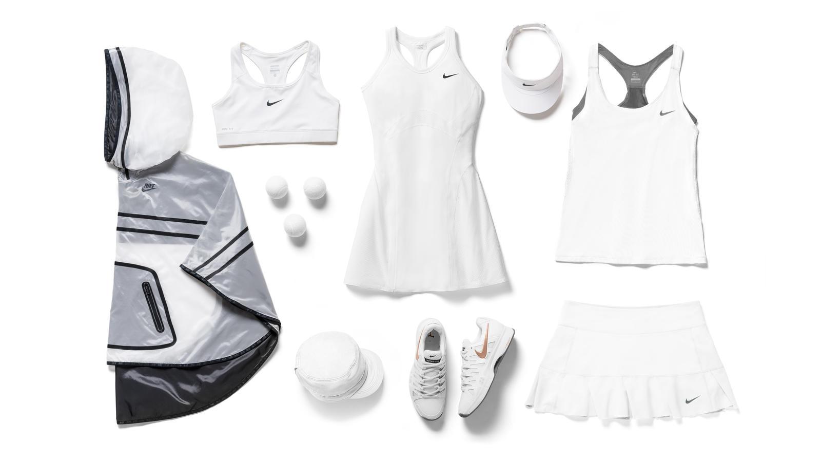 Maria Sharapova Nike Tennis Look - London 2014