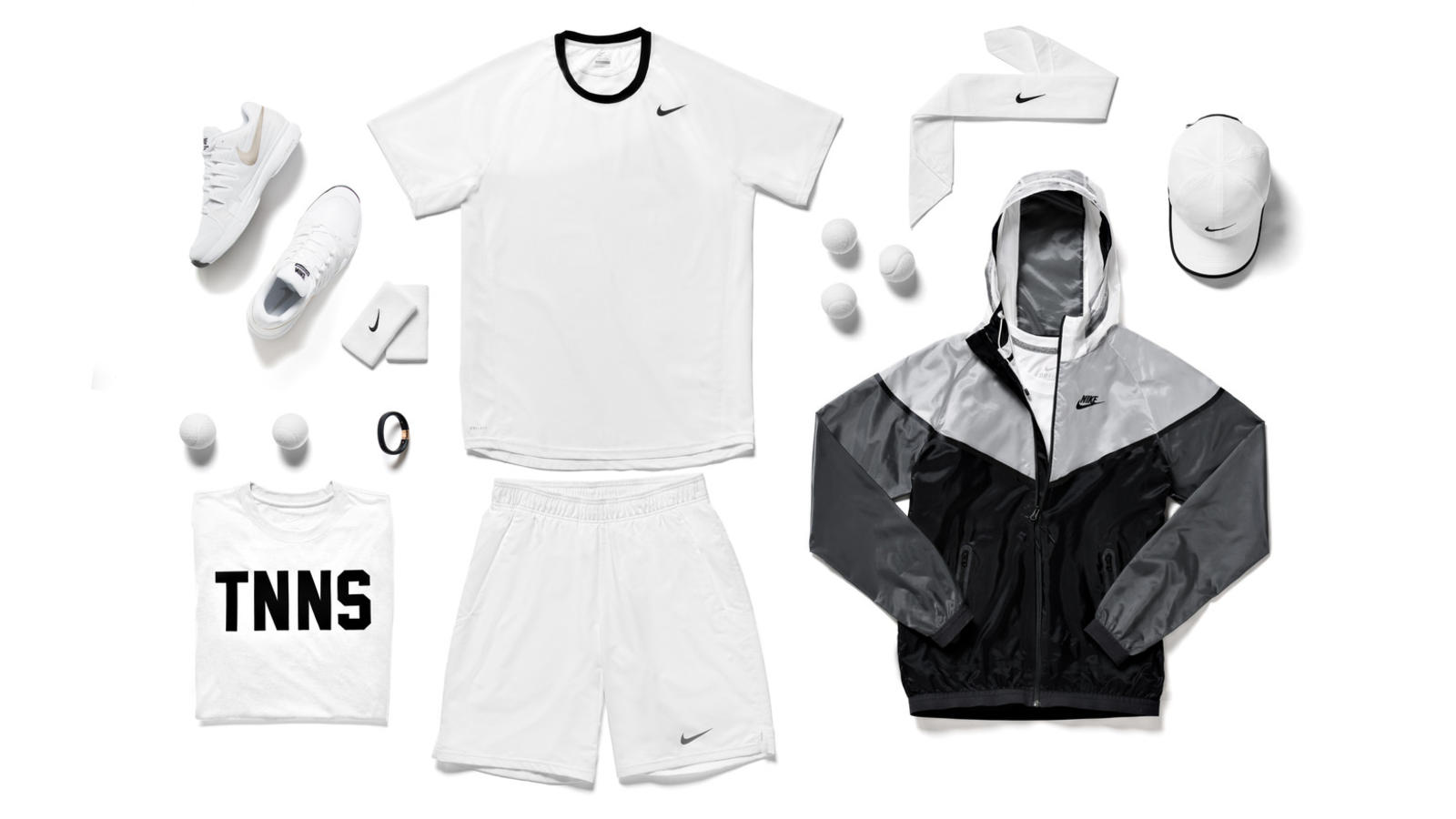 Nike Tennis Young Contenders Look - London 2014