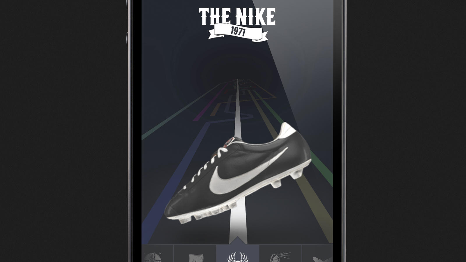 THE NIKE SCREEN SHOT