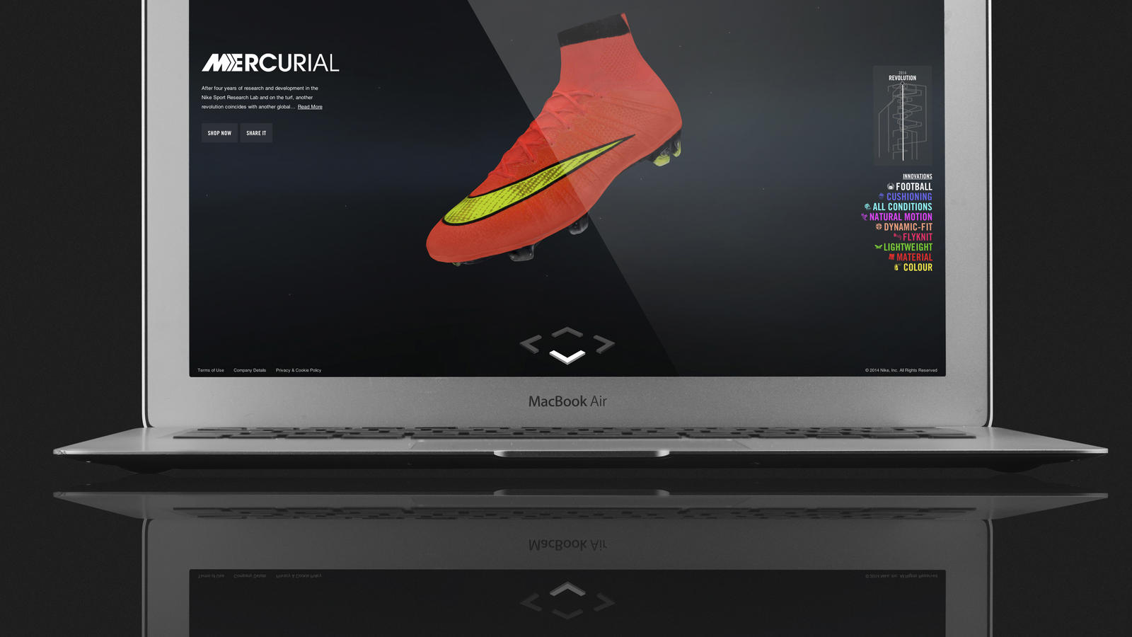 MERCURIAL SUPERFLY SCREENSHOT