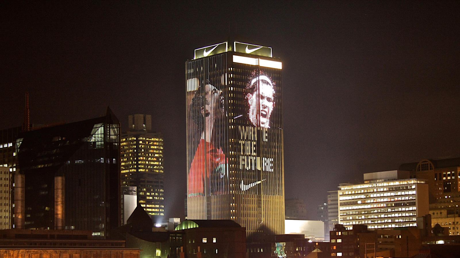 Write the headline light up johannesburg nike news johannesburg june 21 2010 towering high above downtown johannesburg stands one of the citys most iconic buildings the life center thecheapjerseys Gallery