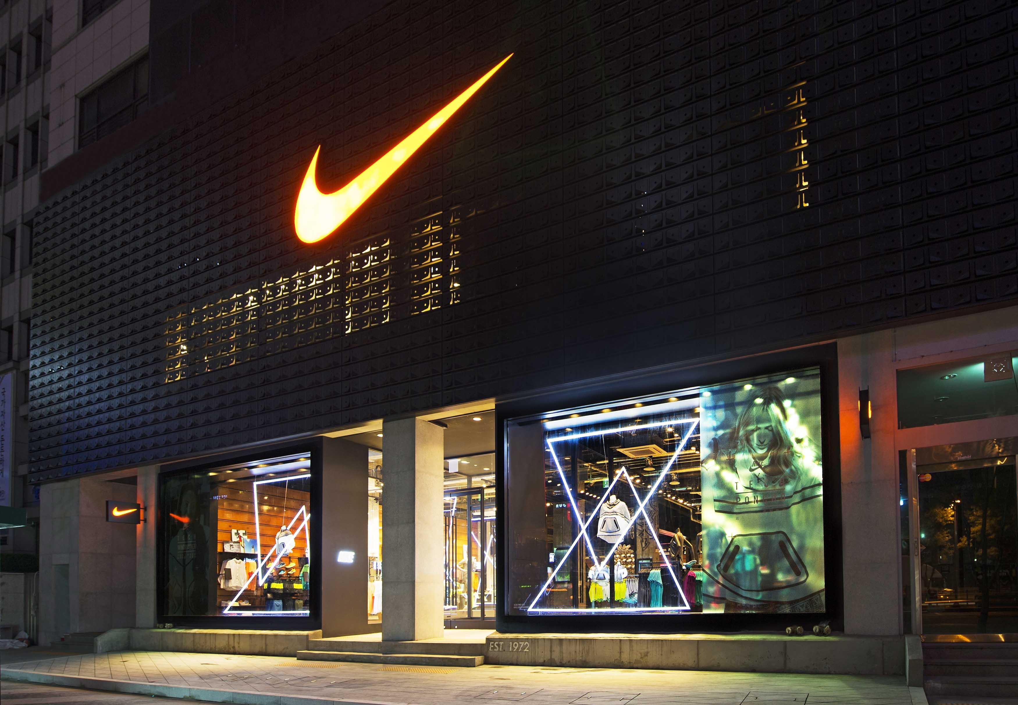 Nike Gangnam Opens In Seoul News