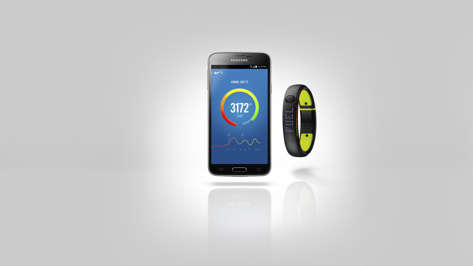 Nike+ FuelBand App for Android