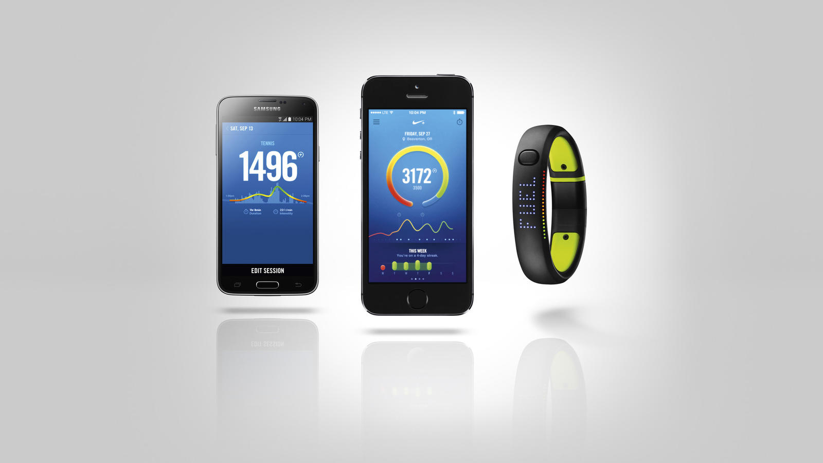 Medicina Forense fluido Manía  Nike+ FuelBand App for Android Now Available - Nike News