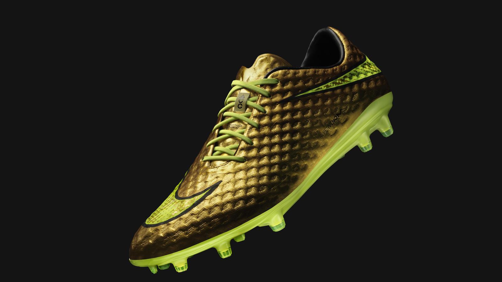 Hypervenom 'Gold' by Nike Football