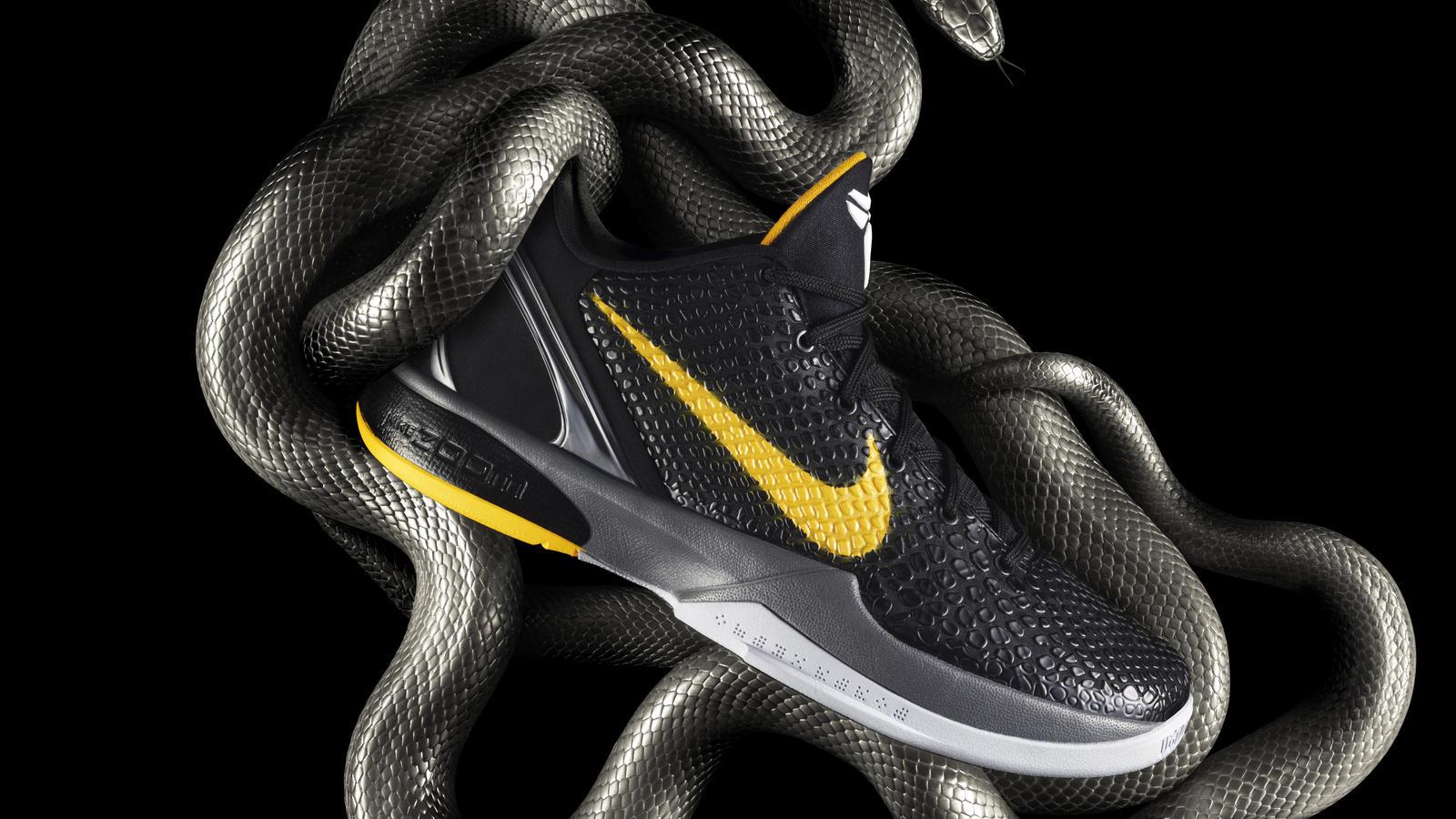 Nike Zoom Kobe VI Black Mamba bk hd 1600