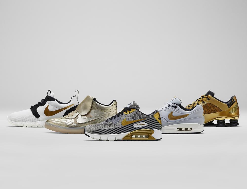 Definindo Padrões: Coleção Nike Sportswear Hypervenom Gold