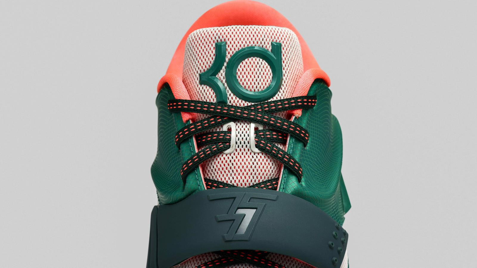 57327deab82 The KD7 fuses performance innovation with inspirations from Kevin Durant s  journey on and off the court. Durant s personal stories come to life  through ...