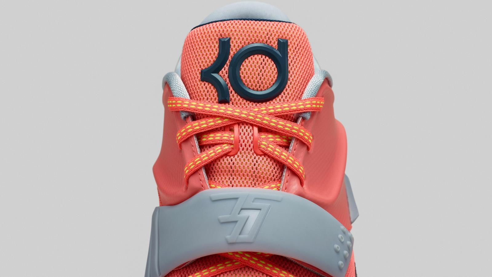 wholesale dealer af36d 48a04 Kevin Durant s seventh signature shoe fuses performance innovation with a  creative narrative across five colorways that are based on the weather.